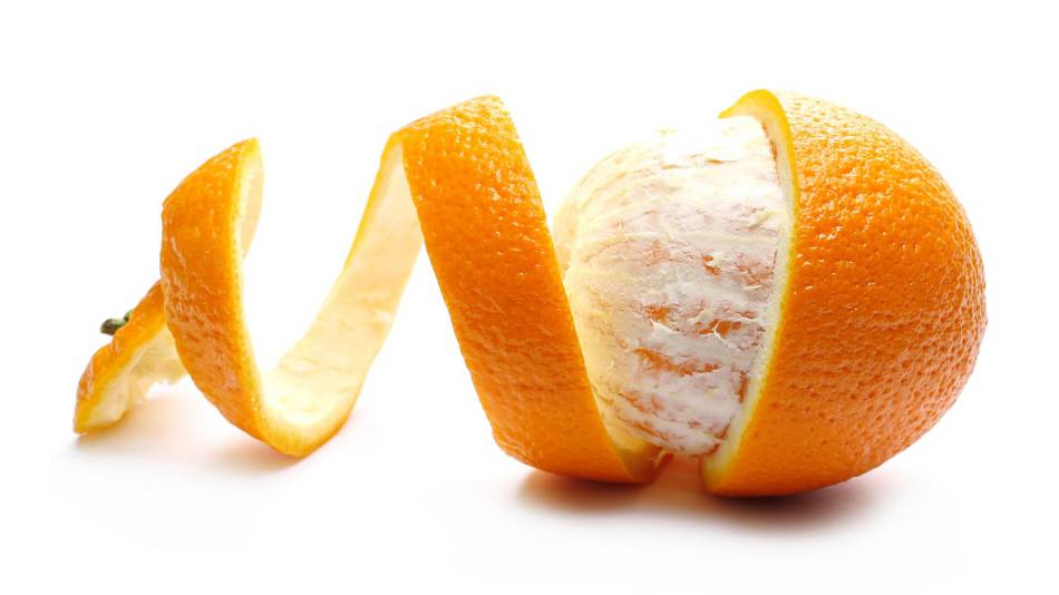 Modified Citrus Pectin for Cancer? -- close up of an orange and orange peel