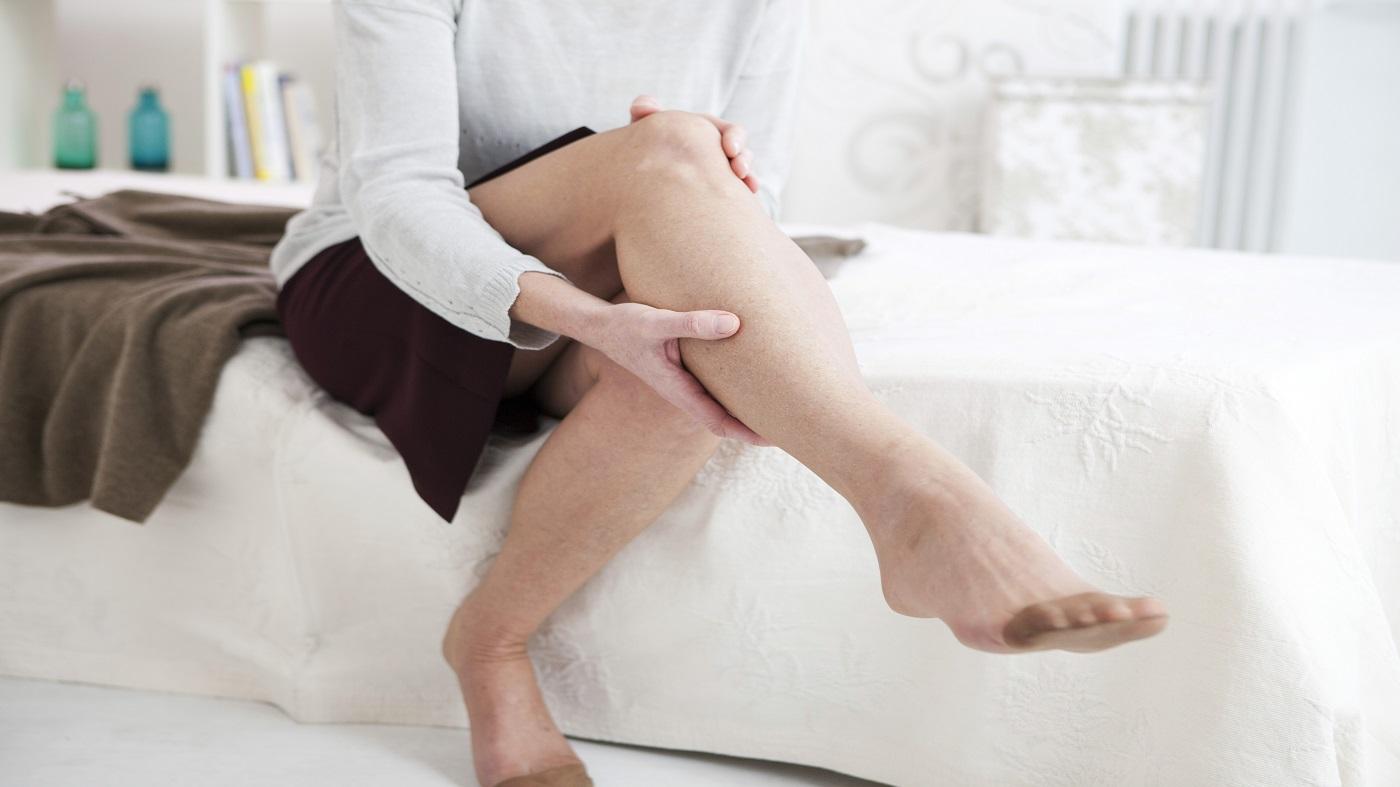 Pycnogenol Health Benefits -- woman with leg pain