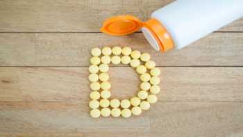 Vitamin D & Prostate Cancer Risk -- bottle of vitamin D capsules
