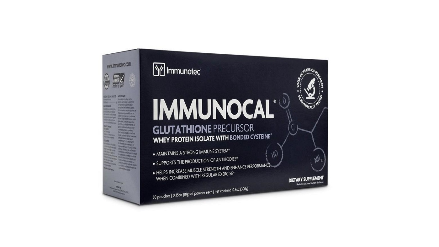 Immunocal: A better whey protein? -- box of Immunocal