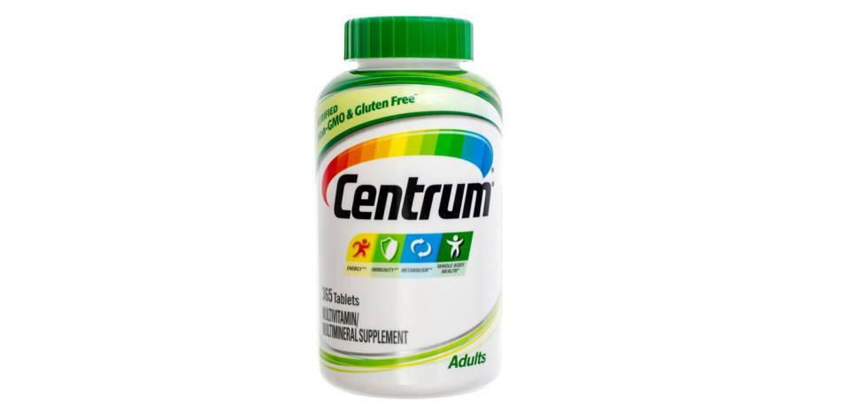 Inactive Ingredients in Centrum -- Bottle of Centrum Vitamins