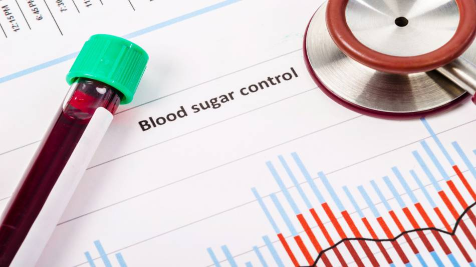 Blood Sugar Control -- blood test and blood sugar chart