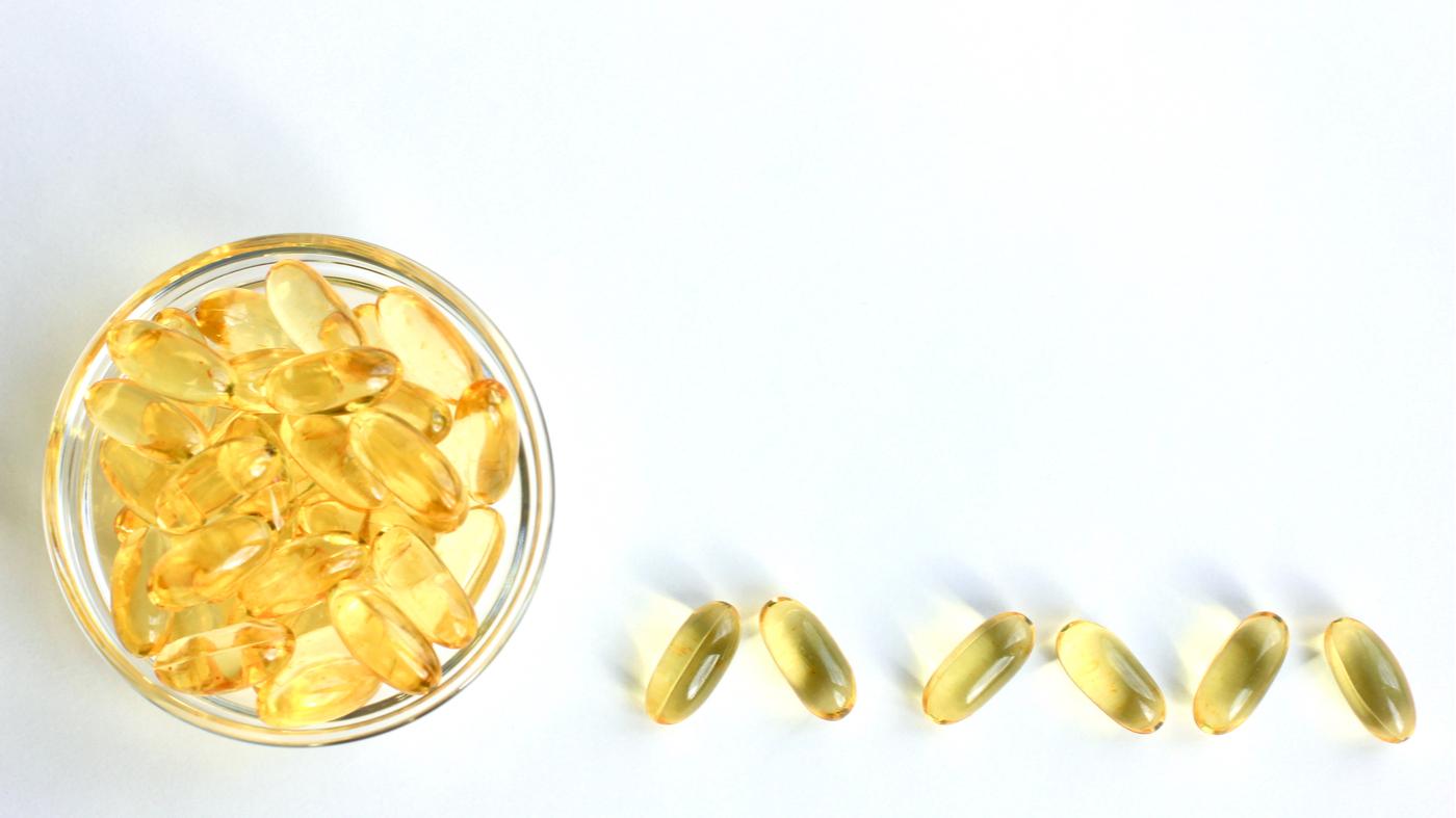 Vegan Friendly EPA and DHA Supplements -- Fish Oil Pills