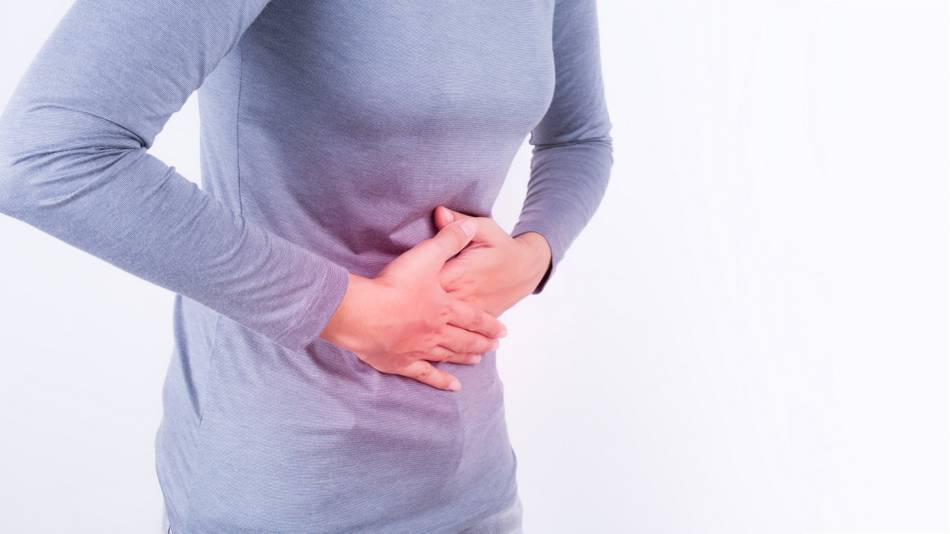 Melatonin and Stomach Pain -- women with stomach pain