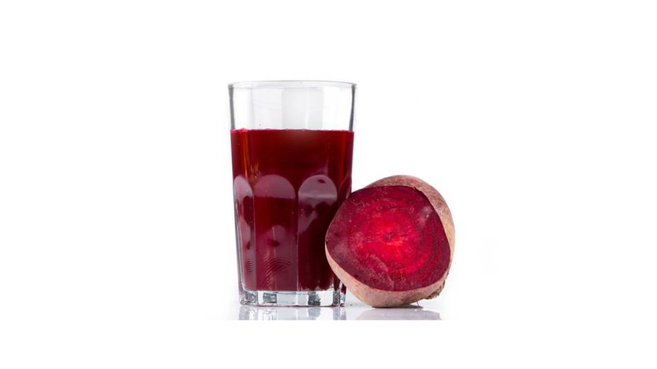 Beetroot juice and exercise performance - glass of beetroot juice