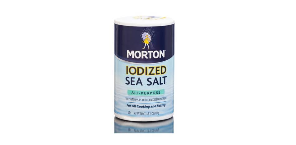 Iodine Causing Acne & Rashes -- box of iodized salt