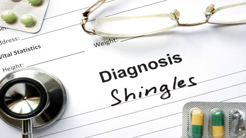 Vitamin C for Shingles (Herpes Zoster) ? -- Doctor's Notes With Shingles Diagnosis Written On It