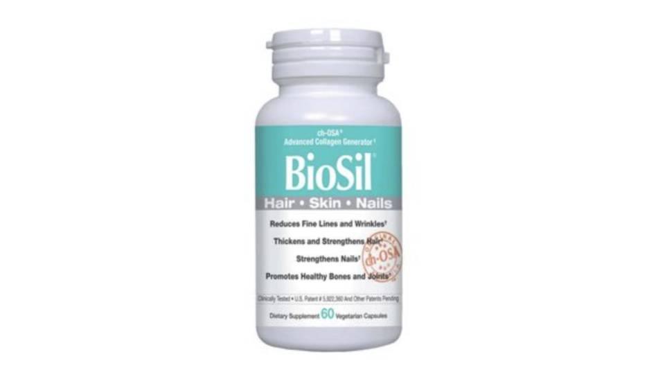 Does BioSil Strengthen Hair, Skin and Nails? -- Bottle of BioSil