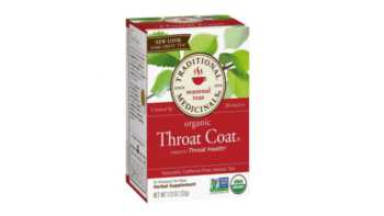 Throat Coat Tea and Potassium Loss -- box of Throat Coat tea