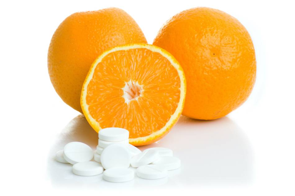 Does Taking Vitamin C Deplete Copper Levels? -- Oranges and Vitamin C Tablets