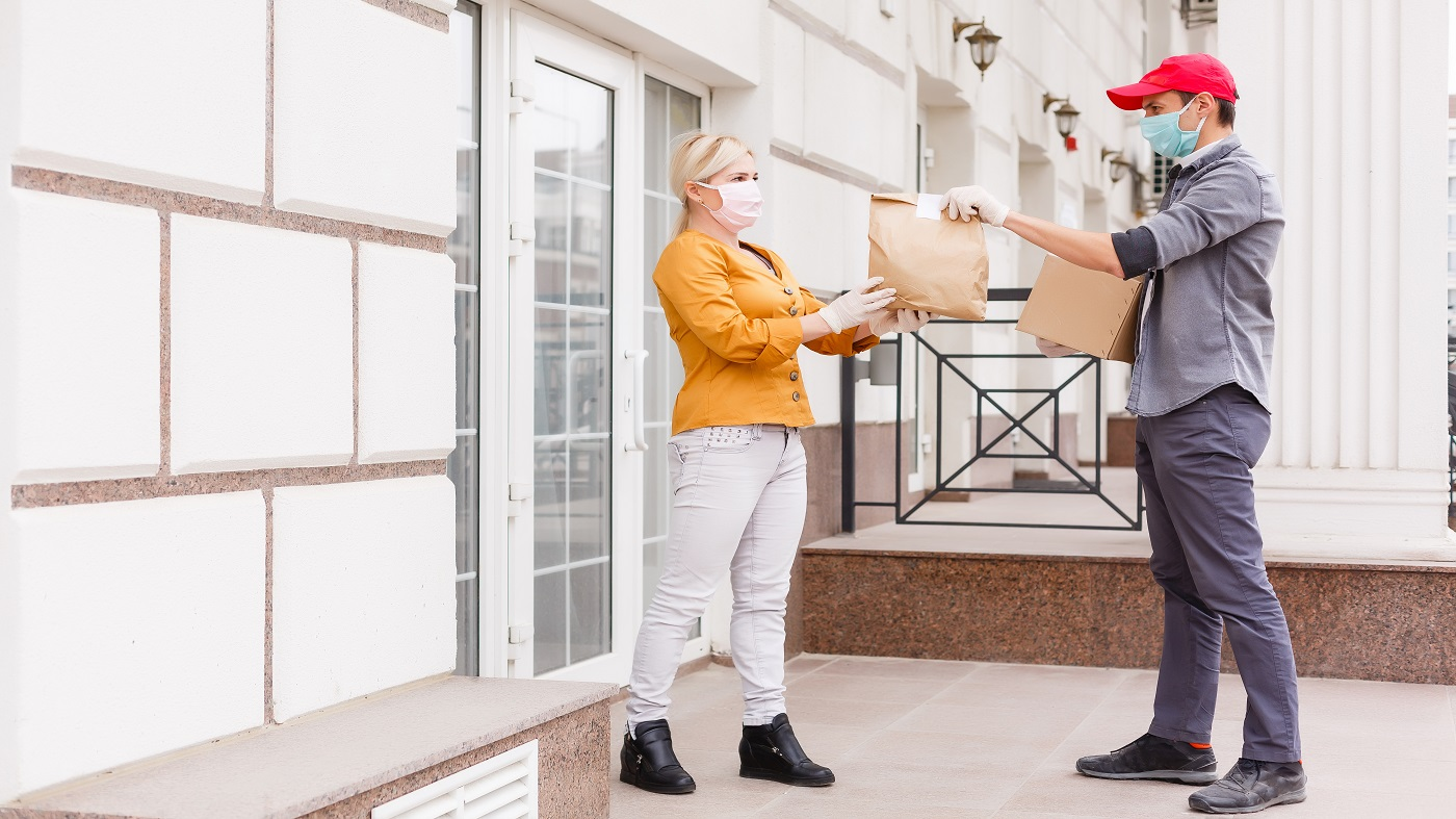 Does Heat Kill Coronavirus? -- Women Receiving Food Delivery