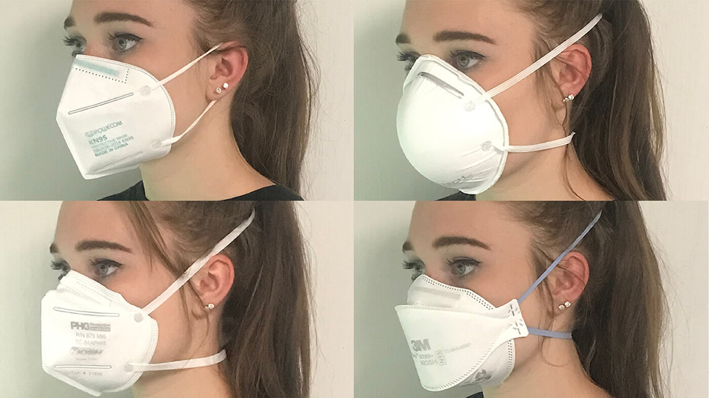 Making a Homemade Mask as Effective as Surgical and N-95 Mask -- Cloth Masks, Scissors and Fabric