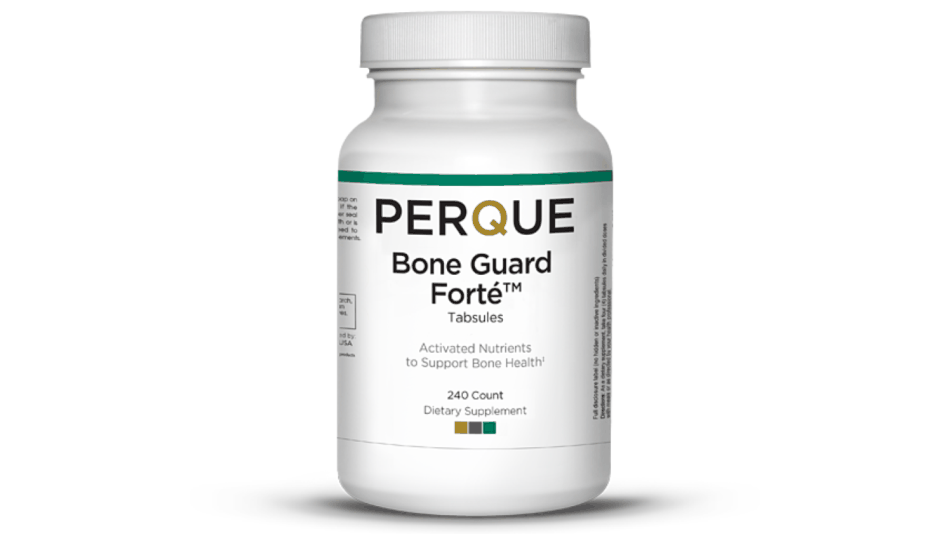 Bottle of Perque Bone Guard Forte