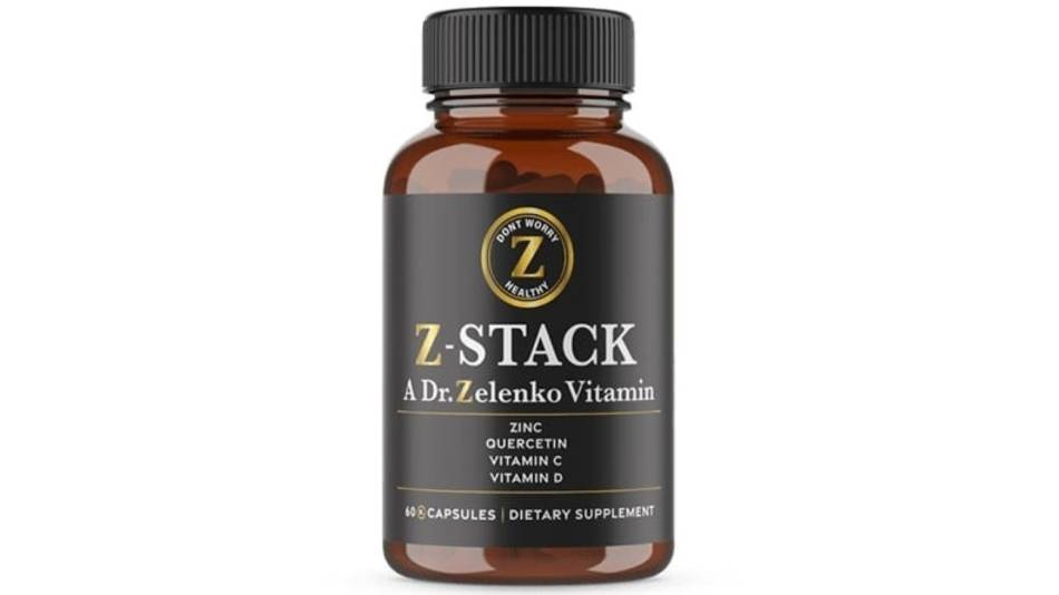 A bottle of Z-Stack capsules