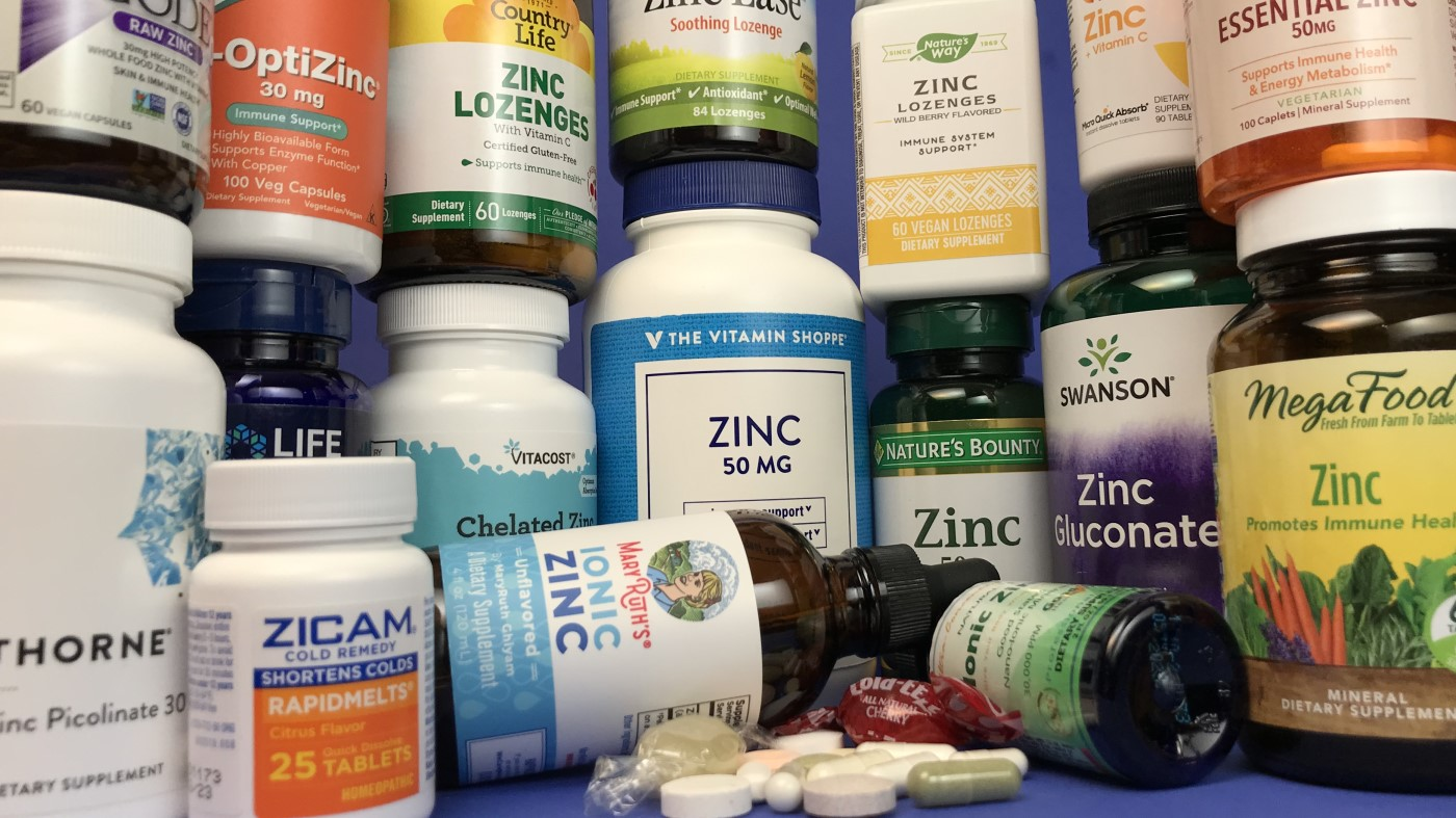 Best Zinc for Colds, Immunity, and More. ConsumerLab Selects <em>Top Picks</em> Among Zinc Liquids, Pills and Lozenges