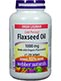 Webber Naturals Flaxseed Oil