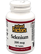 Natural Factors Selenium 200 mcg