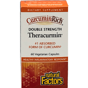 Natural Factors Curcumin Rich Theracurmin