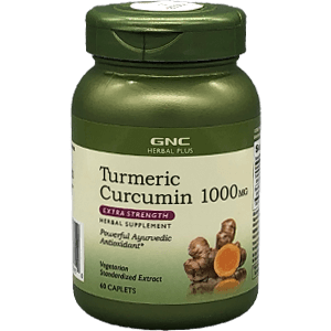 GNC Herbal Plus Turmeric Curcumin 1,000 mg