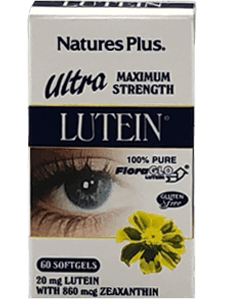 Natures Plus Ultra Maximum Strength Lutein