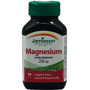 Jamieson Magnesium Ultra Strength 250 mg