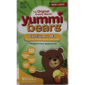 Yummi Bears Calcium + D3