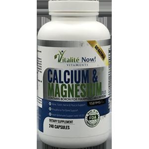 Vitalite Now! Calcium & Magnesium Plus