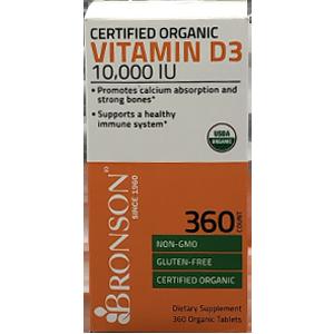 Bronson Vitamin D3 10,000 IU