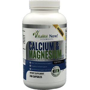 Vitalite Now! Calcium & Magnesium Plus