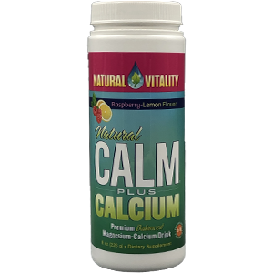 Natural Vitality Natural Calm Plus Calcium
