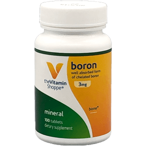 The Vitamin Shoppe Boron