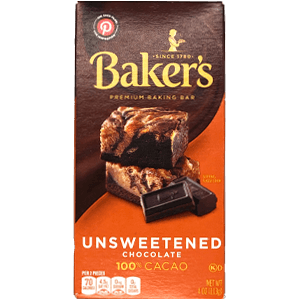 Baker's Unsweetened - 100% Cacao