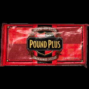 Trader Joe's Pound Plus - 72% Cacao Dark Chocolate