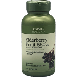GNC Elderberry Fruit 550 mg