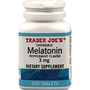 Trader Joe's Chewable Melatonin 3 mg