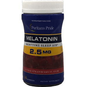 Puritan's Pride Melatonin 2.5 mg