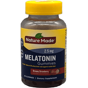 Nature Made Melatonin Gummies 2.5 mg