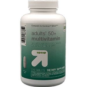 Up & Up [Target] Adults' 50+ Multivitamin