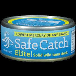 Safe Catch Elite Solid Wild Tuna Steak