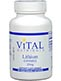 Vital Nutrients Lithium (Orotate) 20 mg