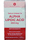 Vitamin World Triple Strength Alpha Lipoic Acid