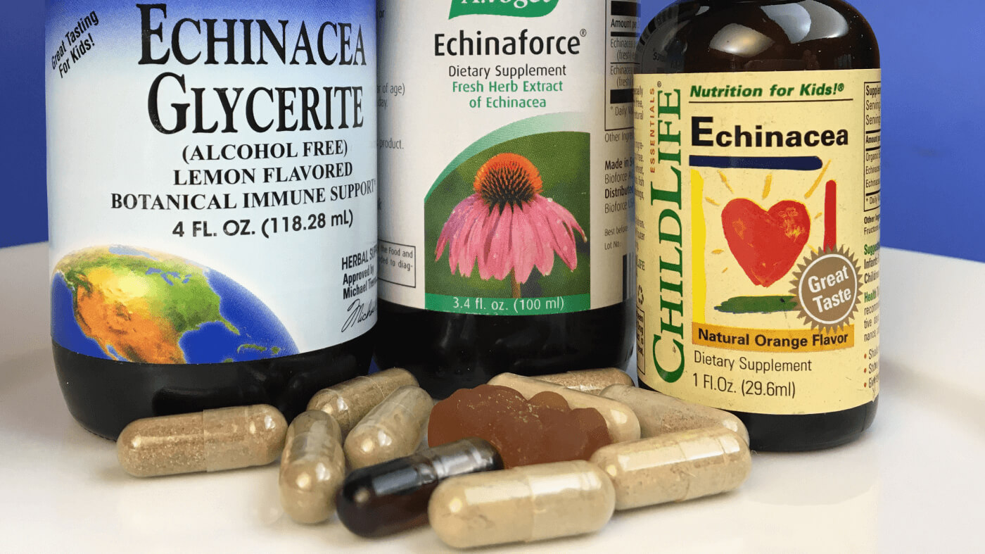 Echinacea supplements reviewed by ConsumerLab.com