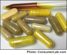 Berberine and goldenseal supplements reviewed by ConsumerLab.com