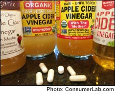 Apple Cider Vinegar Supplements Reviewed by ConsumerLab.com