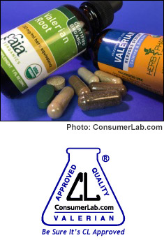 Valerian Supplements Reviewed by ConsumerLab.com