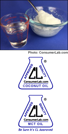 Coconut and MCT Oils Reviewed by ConsumerLab.com
