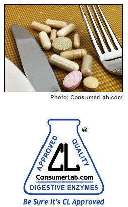 Digestive Enzyme Supplements Reviewed by ConsumerLab.com