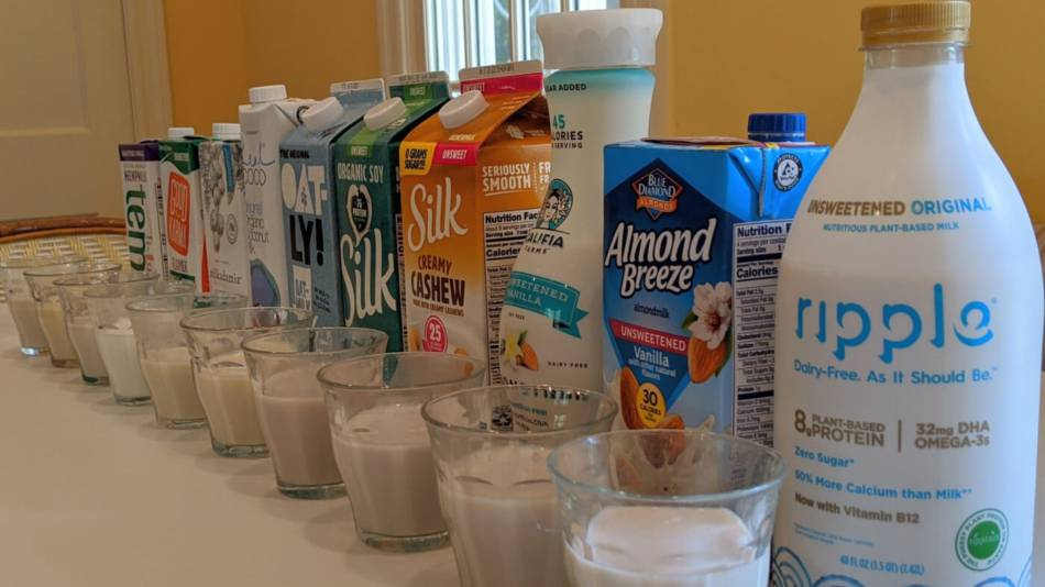 Plant Based Milks reviewed by ConsumerLab.com