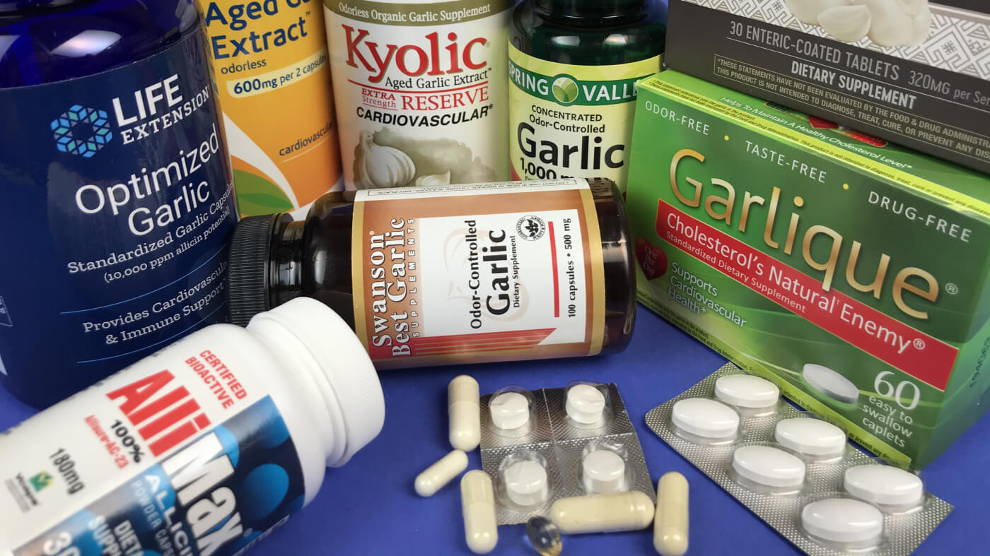 Garlic Supplements Reviewed by ConsumerLab.com