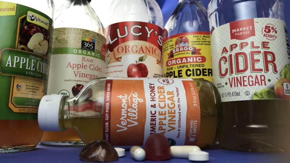 Apple Cider Vinegar Supplements Reviewed by ConsumerLab.com